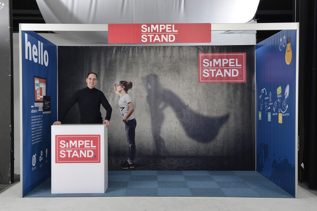 simpel stand beursstand
